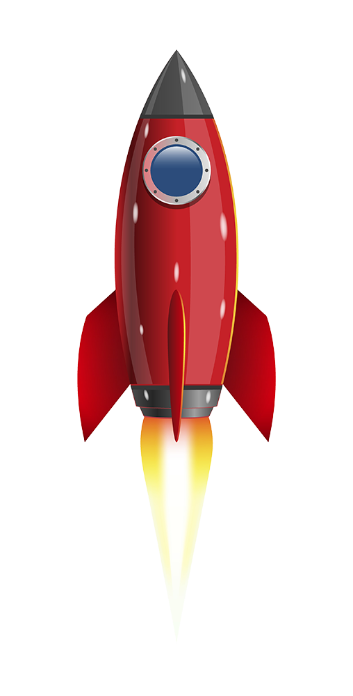 image of a rocket